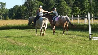 New Videos Coming Soon!  Jumping My Horse Doc