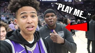 NBA Player 'Zach Randolph' Called Me Out! WANTS TO PLAY ME 1v1!