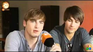 Big Time Rush - German Interview (Kika Logo)