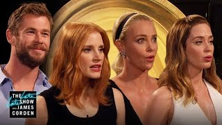 Which of The Huntsman Cast Is Fairest of Them All?