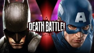 Batman VS Captain America (DC VS Marvel) | DEATH BATTLE!