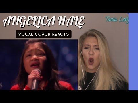 VOCAL COACH |REACTION  |ANGELICA HALE  |CLARITY