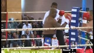 Harry Simon fight Zoltan Kiss Jr.