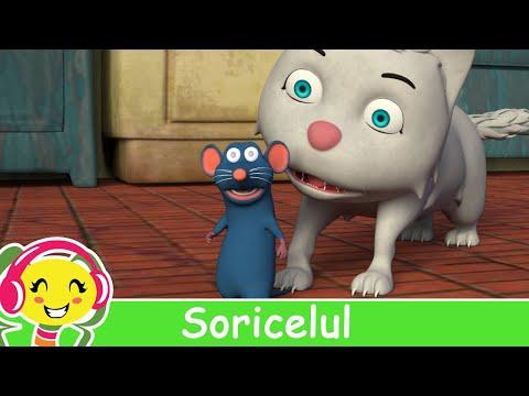 Soricelul cantec pentru copii CanteceGradinita.ro