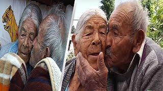 81 سنة متزوجين   و 110 من الأبناء   وتراهم وكأنهم في سن المراهقة !!