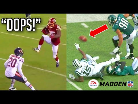 NFL Pressed The Wrong Button Moments HD
