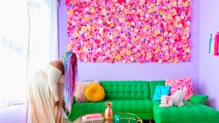 Make This Flower Wall!