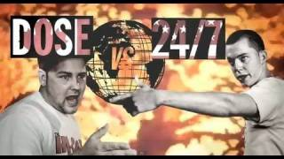 KOTD - Rap Battle - 24/7 vs Dose | #WD2