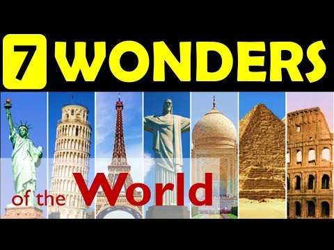 amazing 7 wonders of the world essay The seven wonders of the ancient world ~~ paul v hartman ~~ of those seven wonders, only one remains (the accompanying mini-images are pure artistic guesses.