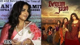 Begum Jaan First Look- Vidya Balan Reacts