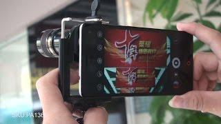 8X Zoom Universal Mobile Phone Telescope Long Focal Camera Lens w/ Mini Tripod