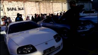 Victoria Supra Club Mighty Car Mods Meet - Moog judging his favourite Supra.