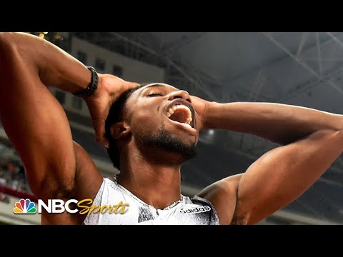 Lyles stuns Coleman at the wire for 100m dash victory NBC Sports