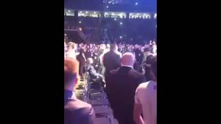 Cro Cop - Guest of Honor at the UFC Fight Night 86, Zagreb, video #2 (2016)