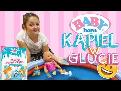 👶🏽 BABY BORN 🛁 KĄPIEL W GLUCIE 😜