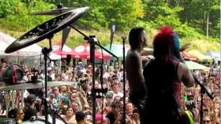 Blood On The Dance Floor - Star Power, Sexting - Live Warped Tour Scranton PA