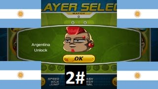 Head Soccer - How to Unlock  Argentina 2#