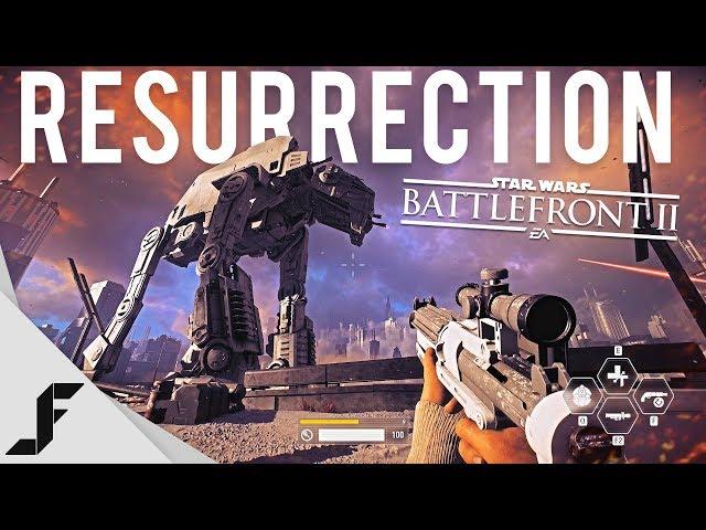 RESURRECTION - Star Wars Battlefront 2 campaign walkthrough