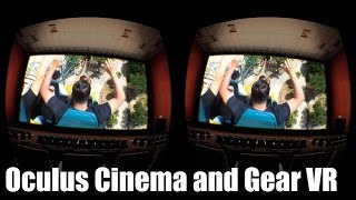 Gear VR Oculus Cinema - How to Watch Your Own Movies
