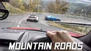 Mountain Roads with my Jaguar F-Type R