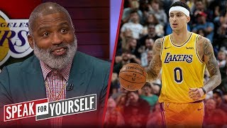 Kyle Kuzma is the key to Lakers' success next season — Cuttino Mobley | NBA | SPEAK FOR YOURSELF