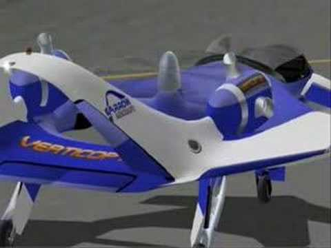 Garrow Aircraft s Verticopter VTOL concept
