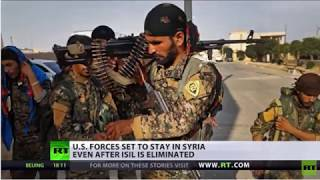BREAKING NEWS:Staying Power U.S force set to remain in syria despiteisis elimination.