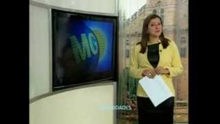 Bom dia Minas - Encerramento na InterTV Grande Minas (16/07/2012)