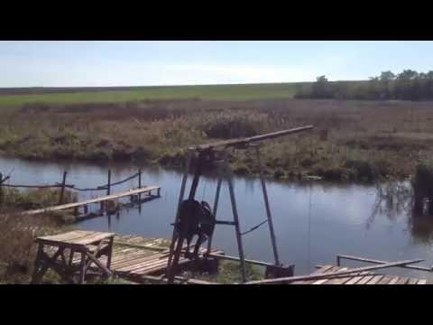 как ловят пауком на реке