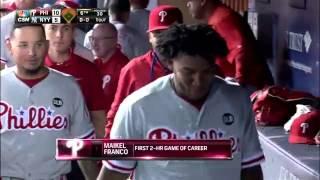 Maikel Franco's Big Night vs  Yankees
