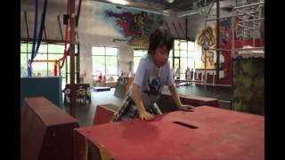 UE Parkour Instructor: Senior Moosedragon Sean's American Ninja Warrior Video submission