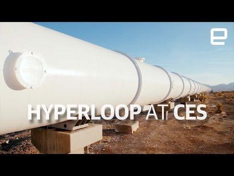 Xxx Mp4 Hyperloop Test Track Tour At CES 2018 3gp Sex