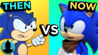 Sonic the Hedgehog - Then VS. Now - The Evolution of Sonic (Tooned Up S3 E27)