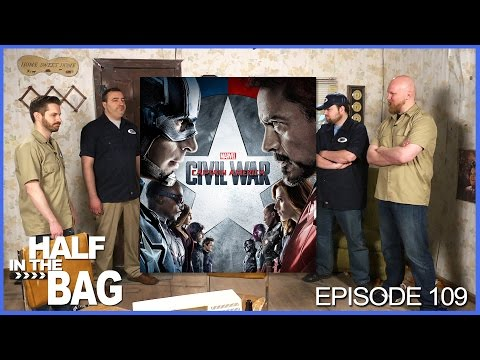Half in the Bag Episode 109 Captain America Civil War