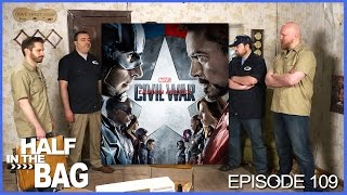 Half in the Bag Episode 109: Captain America: Civil War