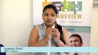 Malkansview - Mentor Student - Asmita Patel, MBA Student