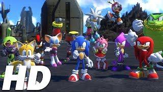 Sonic Forces Full Movie HD | All Cutscenes [english]