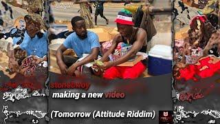 stonebwoy making a new video (Tomorrow (Attitude Riddim)
