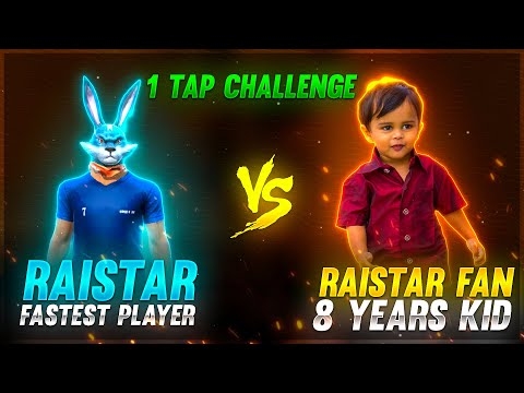 8 Years Boy Challenge Raistar 1 Tap Shot Clash Squad 1 vs 1 Garena Free Fire