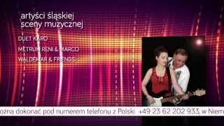 """"""" I SLASKA BIESIADA KARNAWALOWA W NIEMCZECH """" reklama TV"""