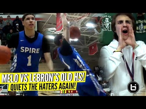 LaMelo Ball Quiets The HATERS vs LeBron s Old High School Rocket Watts GOES OFF