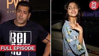 Salman To Explore Gray Shades In 'Race 3' | Alia Doesn't Want To Meet Sidharth & More