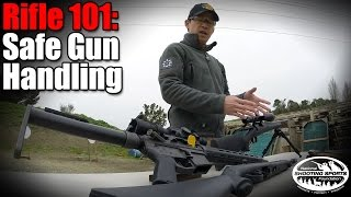 Beginners Guide to Handling Rifles Safely - Rifle 101 with Top Shot Champion Chris Cheng