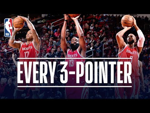 Rockets Set a NEW NBA Record With 26 Three Pointers Made December 19 2018