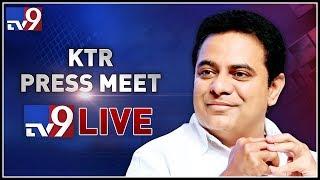 KTR Press Meet LIVE || Somajiguda Press Club || Hyderabad - TV9