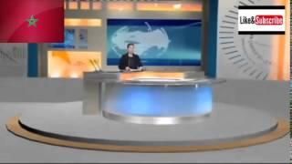 خطأ تقني يكشف كواليس تصوير نشرة أخبار قناة الأولى اليوم !