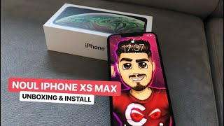 NOUL IPHONE XS MAX 📱- UNBOXING 🔥