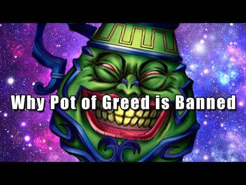 Why Pot of Greed is Banned
