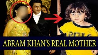 Shocking! Finally Shahrukh Khan's Son Abram's Real Mother Is Revealed