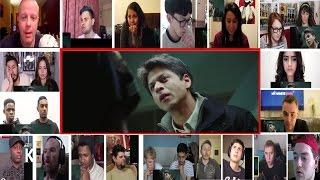 My Name Is Khan Trailer Reactions Super Mashup   Shahrukh Khan   Kajol   Karan Johar
